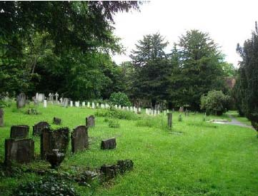 St Lukes Churchyard- northern section excluding church